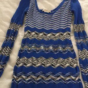 Arden B Stretchy Missoni Inspired Dress Size XS